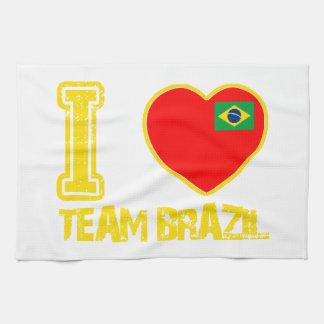 ブラジルのデザイン キッチンタオル