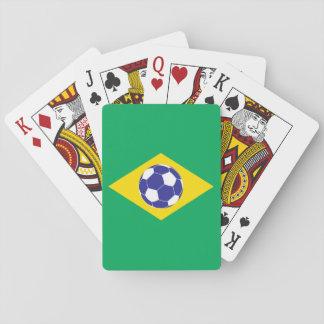 ブラジルのフットボールの旗 トランプ
