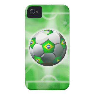 ブラジルのフットボール/サッカーのiphone 4ケース Case-Mate iPhone 4 ケース
