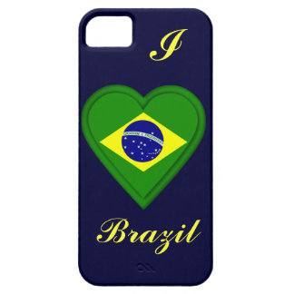 ブラジルのブラジル人の旗 iPhone SE/5/5s ケース