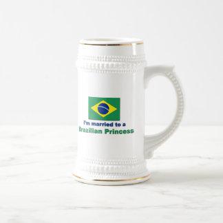 ブラジルのプリンセスに結婚した ビールジョッキ