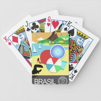 ブラジルのヴィンテージのレトロのデザイン バイスクルトランプ
