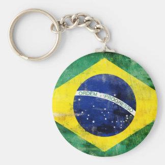 ブラジルの古い旗 キーホルダー