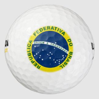 ブラジルの国民のシール ゴルフボール