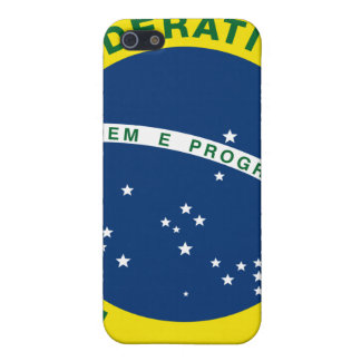 ブラジルの国民のシール iPhone 5 CASE