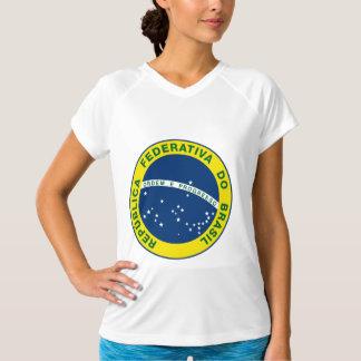 ブラジルの国民のシール Tシャツ