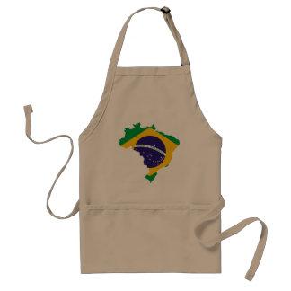 ブラジルの国 スタンダードエプロン