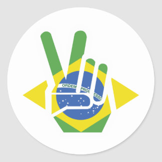 ブラジルの平和 ラウンドシール