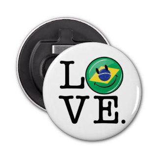 ブラジルの微笑の顔からの愛 栓抜き