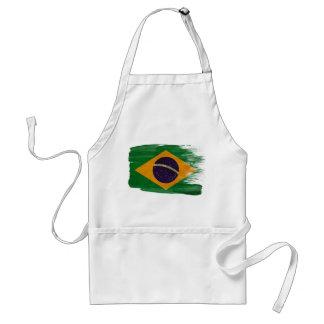 ブラジルの旗のエプロン スタンダードエプロン