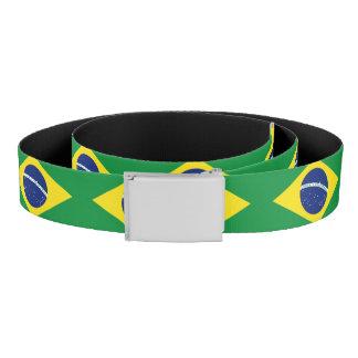 ブラジルの旗のキャンバス・ベルト|ブラジルのプライド ベルト