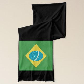 ブラジルの旗のスカーフのブラジルCachecolのスカーフ スカーフ