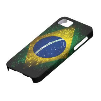 ブラジルの旗の花火 iPhone SE/5/5s ケース