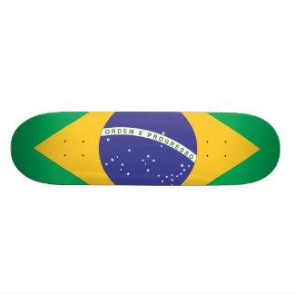 ブラジルの旗の質 19.7CM スケートボードデッキ