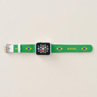 ブラジルの旗のAppleの時計バンド Apple Watchバンド