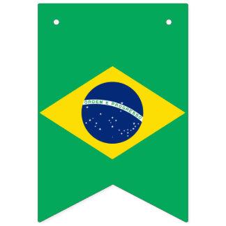 ブラジルの旗をバントするパーティの国旗 バンティングフラッグ