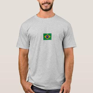 ブラジルの旗11、ブラジル人Jiu-Jitsu Tシャツ