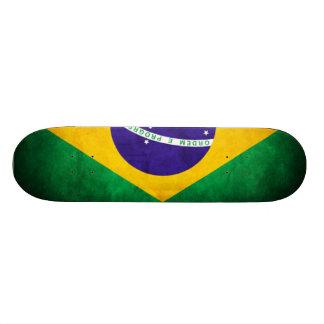 ブラジルの旗2の部(1) 20CM スケートボードデッキ