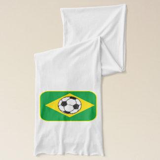 ブラジルの旗|のフットボールのスケッチ スカーフ