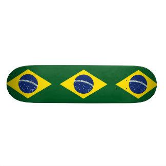 ブラジルの旗 オリジナルスケートボード