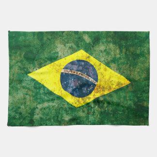 ブラジルの旗 キッチンタオル