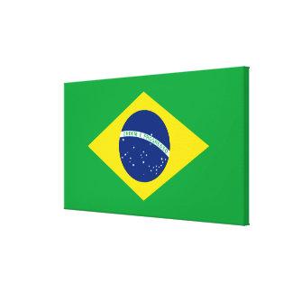 ブラジルの旗 キャンバスプリント