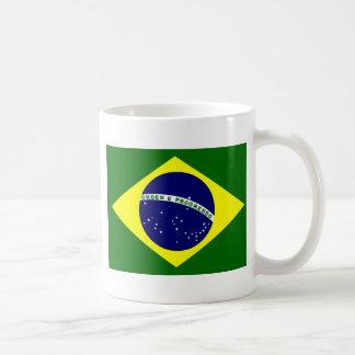 ブラジルの旗 コーヒーマグカップ