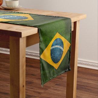ブラジルの旗 ショートテーブルランナー