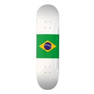 ブラジルの旗 スケートボードデッキ