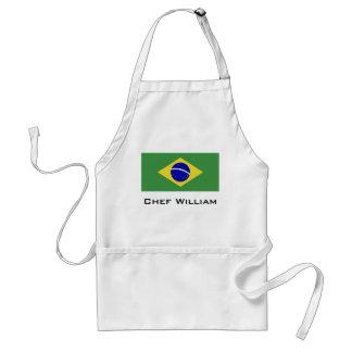 ブラジルの旗 スタンダードエプロン