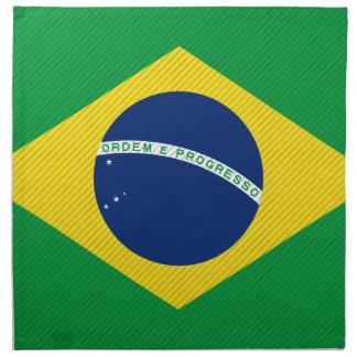 ブラジルの旗 ナプキンクロス