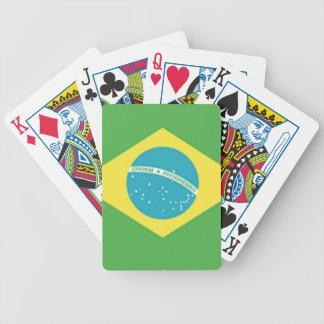ブラジルの旗 バイスクルトランプ