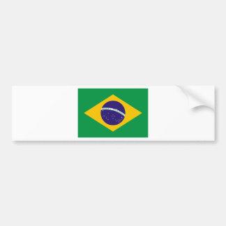 ブラジルの旗 バンパーステッカー