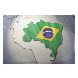 ブラジルの旗 ランチョンマット
