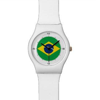 ブラジルの旗 リストウォッチ