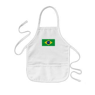 ブラジルの旗 子供用エプロン