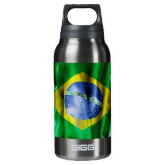 ブラジルの旗 断熱ウォーターボトル