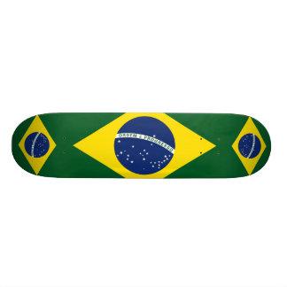 ブラジルの旗 19.7CM スケートボードデッキ