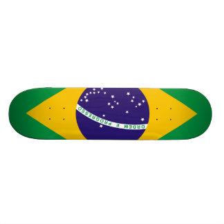 ブラジルの旗 21.6CM スケートボードデッキ
