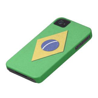 ブラジルの旗 Case-Mate iPhone 4 ケース