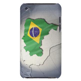ブラジルの旗 Case-Mate iPod TOUCH ケース