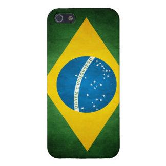 ブラジルの旗 iPhone 5 カバー
