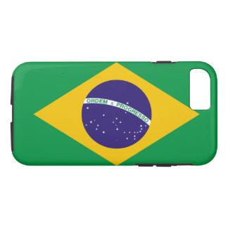 ブラジルの旗 iPhone 8/7ケース