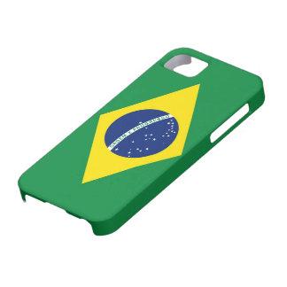 ブラジルの旗 iPhone SE/5/5s ケース