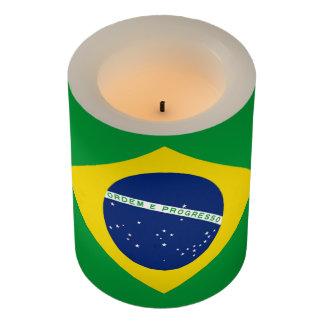 ブラジルの旗 LEDキャンドル