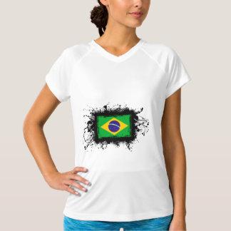 ブラジルの旗 Tシャツ