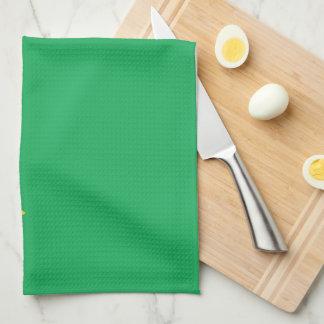 ブラジルの明白な旗 キッチンタオル