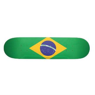 ブラジルの明白な旗 スケボーデッキ