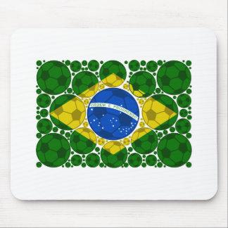 ブラジルの球 マウスパッド