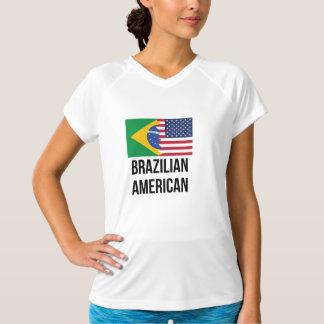 ブラジルの米国旗 Tシャツ